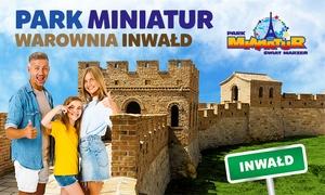 Wstęp do Parku Miniatur Inwałd
