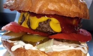 Wybrany burger na miejscu/ na wynos