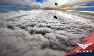 Skok w tandemie z 4200 m