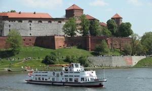 Rejs po Wiśle w Krakowie
