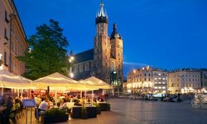 Kraków: pokój double ze śniadaniami lub HB