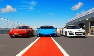 Jazda samochodem wyścigowym